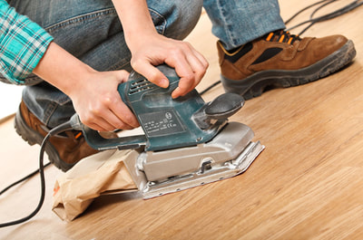 hardwood floor repair service